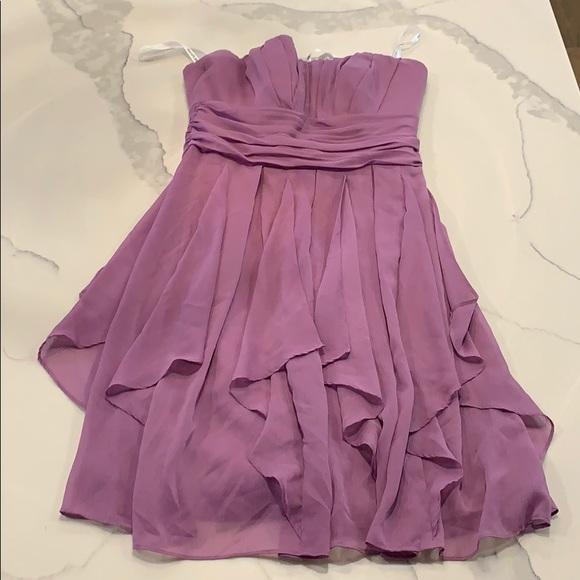 David's Bridal bridesmaids dress size 6